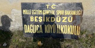 Trabzon Beşikdüzü dağlıca mahallesi ilkokulu