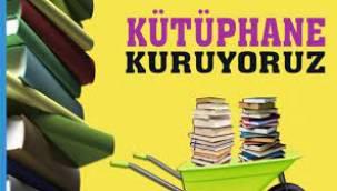Bilka Başkanı Yazarımız Avukat Alev Sezen Hanım Kütüphane kurma kampanyalarına devam ediyor