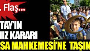 Danıştay'ın andımız kararı Anayasa Mahkemesi'ne taşınıyor