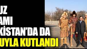 Nevruz Bayramı Kazakistan'da da coşkuyla kutlandı