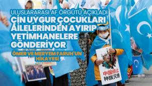 """Uluslararası Af Örgütü """"Çin Uygur çocukları ailelerinden ayırıp yetimhanelere gönderiyor"""""""