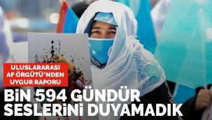 Uluslararası Af Örgütü'nden Uygur aileleri raporu: Bin 594 gündür kızlarımızın sesini duymadık