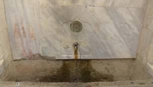 Üsküdar'daki tarihi çeşmelere banyo musluğu!