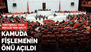 Tartışmalı yasa Meclis'ten geçti! Kamuda fişlemenin önü açıldı