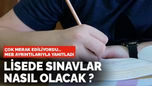 MEB'den yeni açıklama: Liselerde sınavlarla ilgili uygulamalar nasıl olacak?