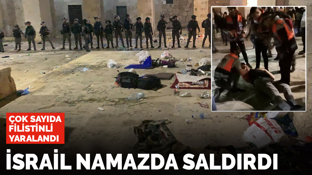 Terörist Devlet İsrail'in Mescidi Aksa'ya saldırısı kınıyoruz ama!