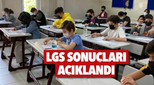 LGS 2021 sonuçları açıklandı