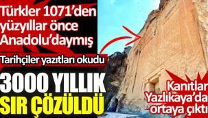 3000 yıllık sır çözüldü. Türkler 1071'den yüzyıllar önce Anadolu'daymış
