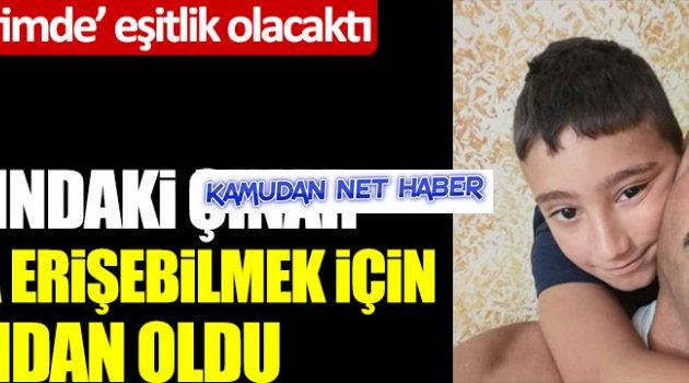 8 yaşındaki Çınar Mert, EBA'ya erişebilmek için canından oldu