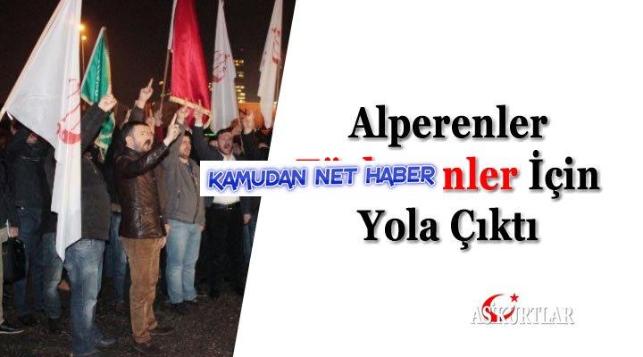 Alperenler Türkmenler İçin Yola Çıktı