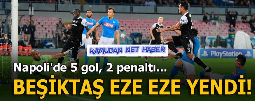 Beşiktaş Eze Eze Yendi!
