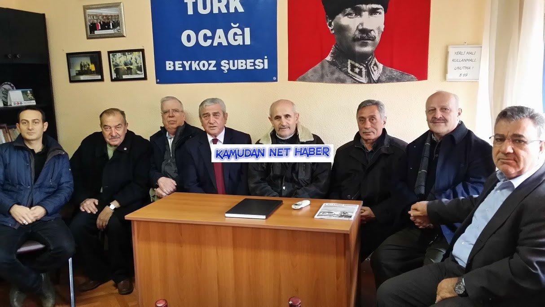Beykoz Türk Ocağında Nöbet Değişimi