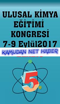 Elazığ'da 5.Ulusal Kimya Eğitimi Kongresi düzenlenecektir