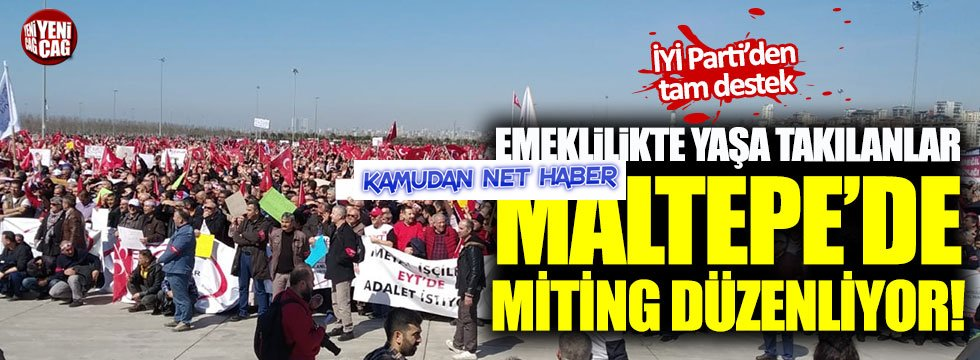 EYT'liler İstanbul'da buluştu!