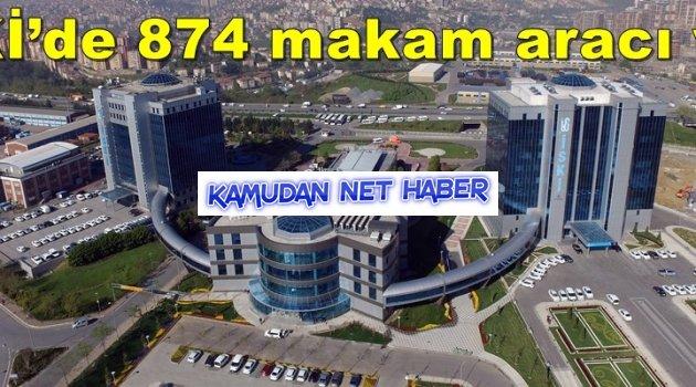 İSKİ'de 124 yönetici 874 makam aracı var. Maşallah!