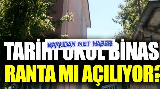 """İsmail Koncuk: """"Tarihi okul binası ranta konu ediliyor"""""""