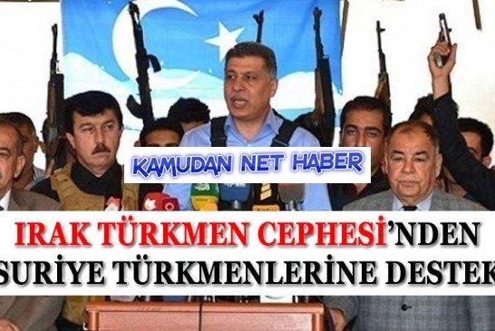 işte Kardeşlik Bu: Suriye Türkmenleri'ne Irak Türkmenleri'nden Destek!