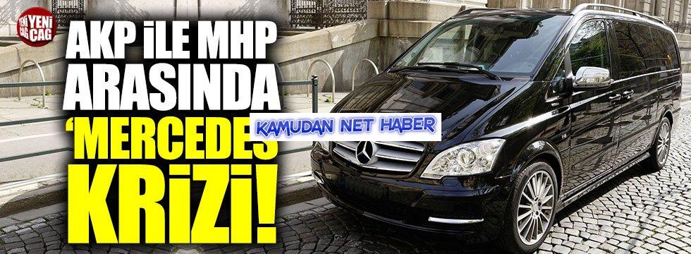 Kamyonet Gösterilerel Mersedes İthal Edilmesi AKP-MHP Arasını Açtı