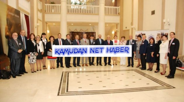 Koncuk, Azerbaycan Tahsil İşçileri Azad Hemkarlar İttifakı'nın Genel Kurulu'na Katıldı.