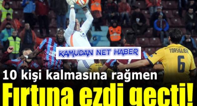 Trabzonspor 3 - 1 Metalist Kharkiv
