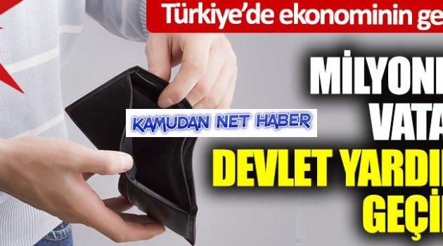 Milyonlarca vatandaş devlet yardımıyla geçiniyor… Türkiye'de ekonominin gerçek yüzü… Acı tablo