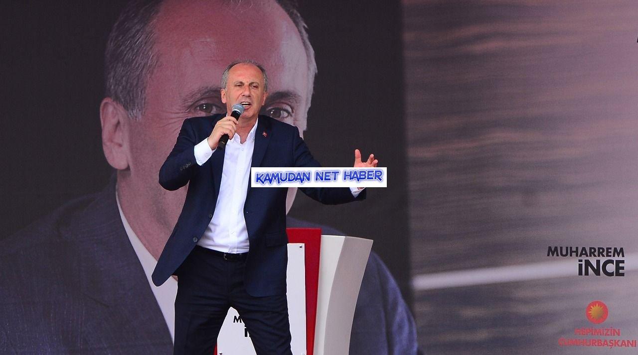 Muharrem İnce'den Erdoğan'a 3600 ek gösterge çağrısı: Madem samimisin çıkar bir KHK seçimden önce ver