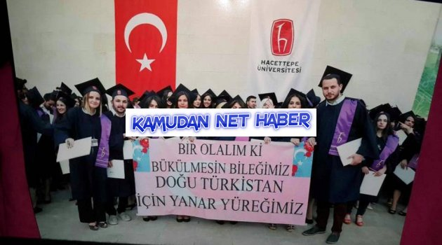 ODDÜ' ye İnat Hacettepeli Öğrenciler'den Doğu Türkistana anlamlı destek!
