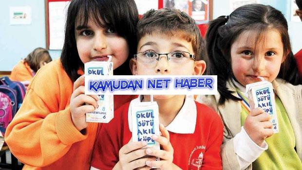 Okulların sütü kesildi
