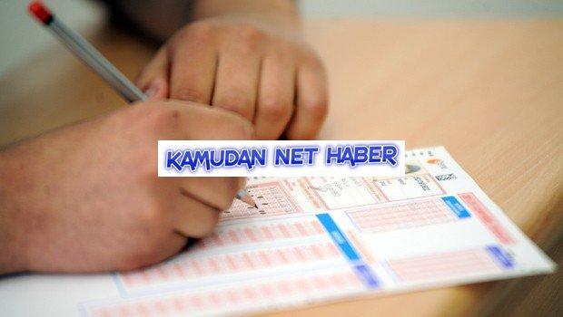 Şüpheli adaylara sınav tekrarı