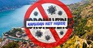 Avrupada Tek!. Karadağda  Aktif Koronavirüs Vakası Kalmadı