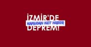 Ege Denizi'ndeki deprem İzmir'i vurdu. Başımız Sağolsun