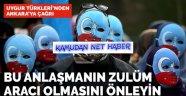 Türkiye'deki Uygur Türkleri endişeli: Çin anlaşması Meclis'te