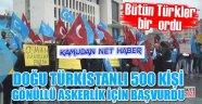 Doğu Türkistanlı Türklerinden, Afrin için gönüllü askerlik başvurusu