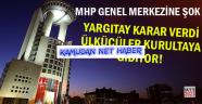 Yargıtay MHP kararını verdi! Kurultay Olacak