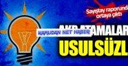 """AKP'nin atamalarına Sayıştay'dan """"usulsüzlük"""" tespiti"""