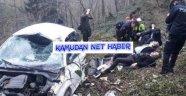 Kamu-Sen Trabzon İl Temsilcisi TES 1 Nolu Şubesi Başkan ve Yöneticileri Kaza Geçirdi