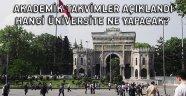 Akademik takvimler açıklandı... Hangi üniversite ne yapacak?