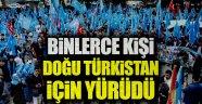 Doğu Türkistan için meydanları doldurdular  Kaynak Yeniçağ: Doğu Türkistan için meydanları doldurdular