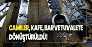 Doğu Türkistanda,Camiler, kafe,bar ve tuvalete dönüştürüldü!