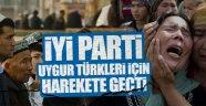 İYİ Parti Uygur Türkleri için harekete geçti