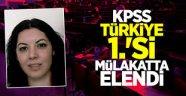 KPSS Türkiye birincisi, mülakatta elendi