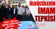 Ülkücüler Doğu Türkistandaki Şehitlere Gıyabi Cenaze Namazı Kıldırmayan İmama Tepki  Gösterdi