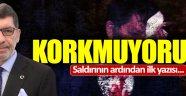 Yavuz Selim Demirağ'dan: Kormuyorum
