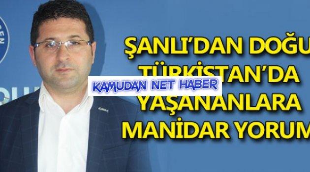 TES Kocaeli Şube Başkanı Yaşar Şanlı'dan Doğu Türkistanla İlgili Basın Açıklaması