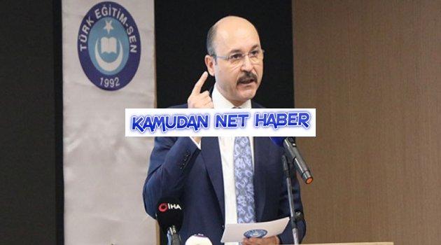 """TES: """"MEB Yönetici Atama yönetmeliğini yargıya taşıyacağız"""""""