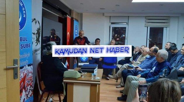 Türk Eğitim-Sen İstanbul 3 Nolu Şubeden tarimize ışık tutan Muhteşem bir konferans