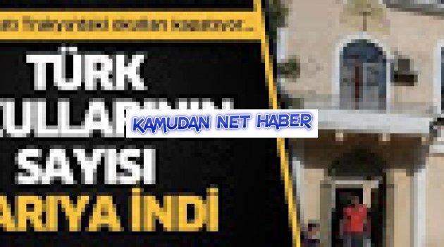 Türk okullarının sayısı yarıya indi