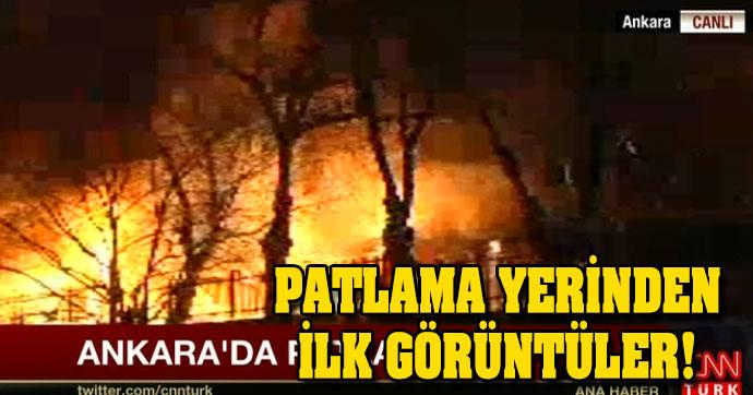 Ankarada Terör Saldırısı. Allah Belanızı Versin...