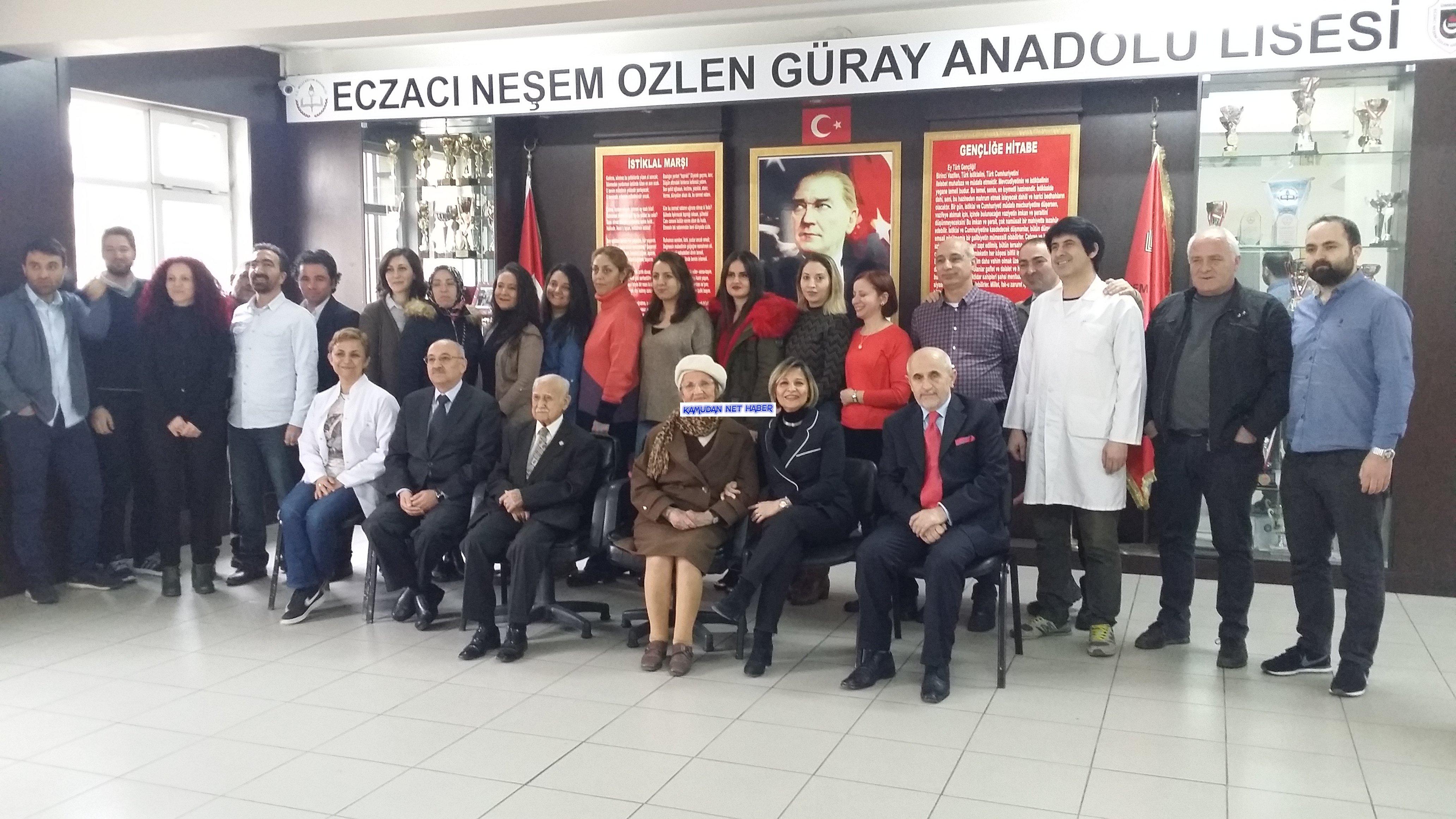 Ümraniye Eczacı Neşem Özlen Güray Anadolu Lisesi Yetim Kaldı